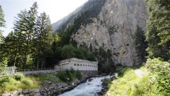 Die «Garage»: Von hier führt Stollen in den Berg zum Bundesratsbunker und dem Nationalbanktresor.