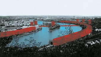 In den 1990er-Jahren bereits machten sich Herzog & de Meuron Gedanken zur Zukunft des Stadtrands.