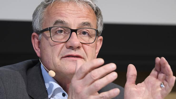 Nicolas Perrin gibt sein Amt als CEO von SBB Cargo im zweiten Quartal 2020 ab. (Archivbild)