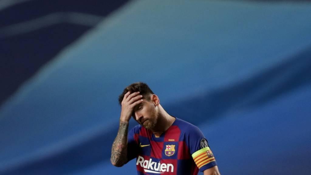 Lionel Messi möchte nicht mehr für Barcelona spielen