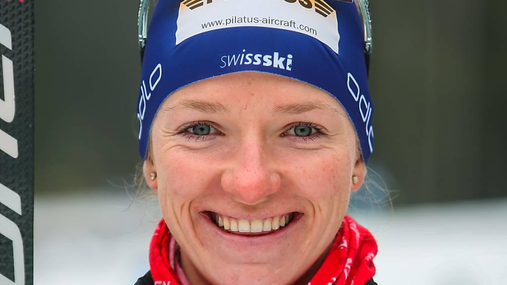 Nadine Fähndrich liebäugelt mit einem Podestplatz.