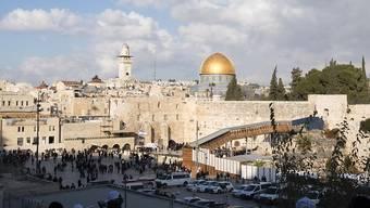 Der Tempelberg in Jerusalem ist wegen des grassierenden neuen Coronavirus geschlossen. (Archivbild)