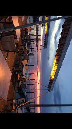 Stimmungsvoller Abend am Bodensee