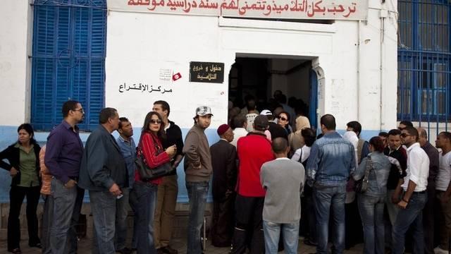 Der Andrang bei den Wahlen in Tunesien ist gross
