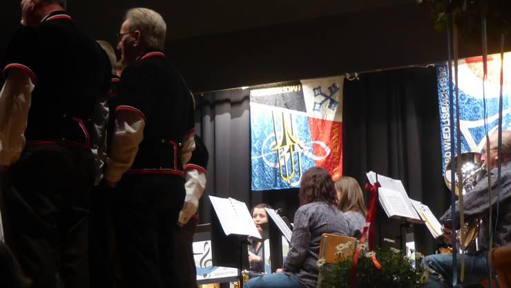 Die Musikgesellschaft Regio Wi-Wa stand zum ersten Mal mit dem Jodlerklub Randflueh auf der Bühne.