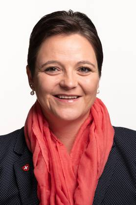 Stefanie Heimgartner. Nationalrätin (SVP/AG).