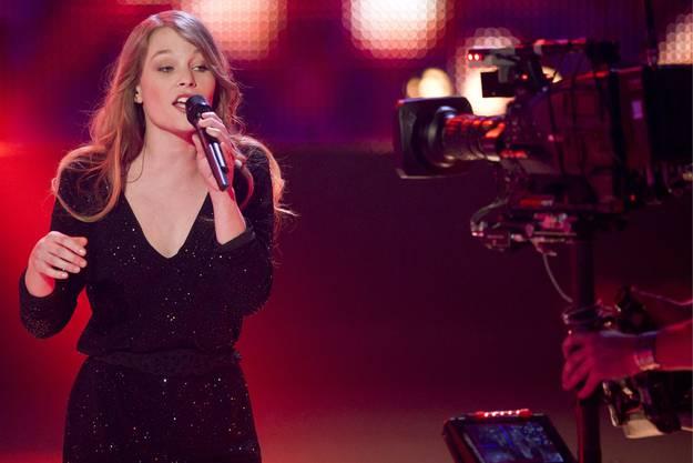 Sie überzeugte mit ihrer Stimme.