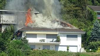Hausbrand in Oftringen