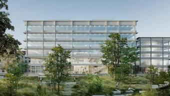 Der geplante Campus T der ZHAW beim historischen Technikum ist einen Schritt weiter. Nun ist der Kantonsrat am Zug. Im Bild die Visualisierung des Siegerprojektes.