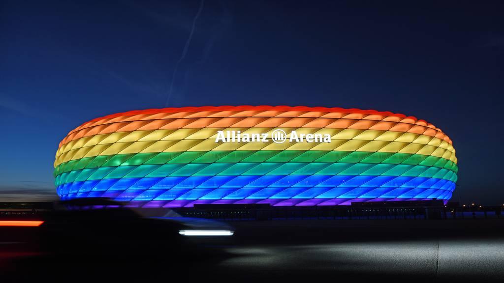Homophobie bei der EM? UEFA verbietet Regenbogen-Arena