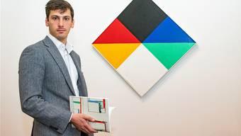 Das Familienunternehmen Knoell (im Bild: Robert Knöll) handelt an der Art mit Werken von Max Bill.Nicole Nars-Zimmer