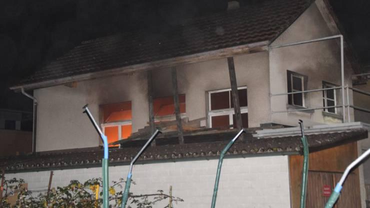 Durch den Brand wurde niemand verletzt. (Archivbild)