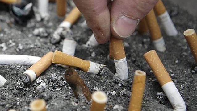 Das «Experiment Nichtrauchen» wird durchgeführt von der Arbeitsgemeinschaft Tabakprävention Schweiz und den kantonalen Tabak- und Suchtpräventionsstellen sowie den kantonalen Krebs- und Lungenligen. (Symbolbild)