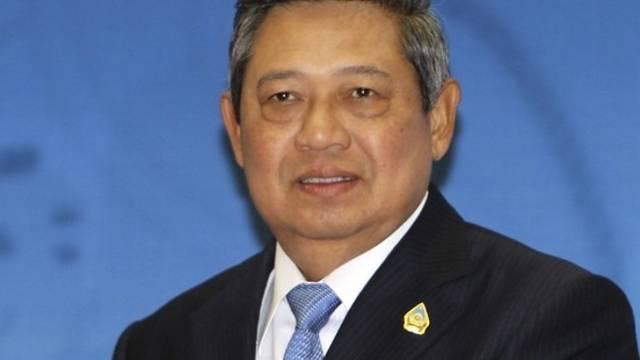 Indonesiens Präsident Susilo Bambang Yudhoyono eröffnet den Gipfel
