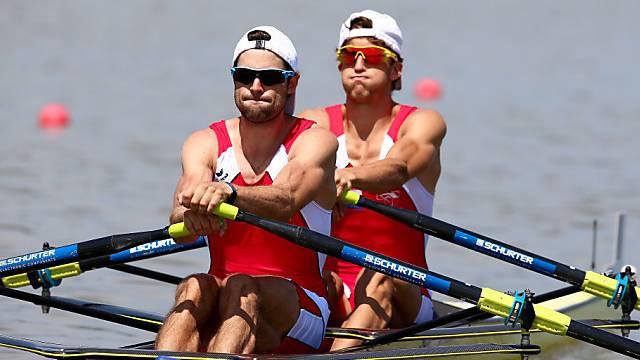 WM-Silber für das Schweizer Duo Simon Schürch/Mario Gyr