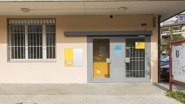 Die alte Postfiliale Fahrweid. Im September hat stattdessen eine Postagentur in der Autovermietung Miet and Drive eröffnet.