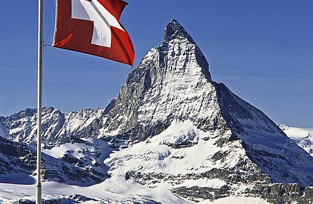 Das Matterhorn im Wallis