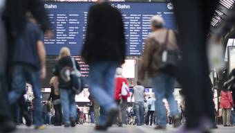 Im Hauptbahnhof Zürich (Archiv)