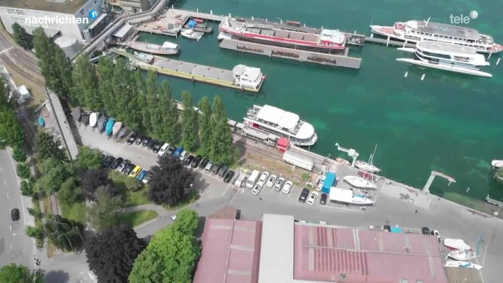 Die Stadt Luzern will das linke Seeufer attraktiver machen