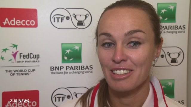 Martin Hingis gibt ihr Comeback am Fed-Cup-Team der Schweiz