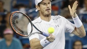 Wieder einmal eine Niederlage eingesteckt: Andy Murray verlor in Cincinnati im Final