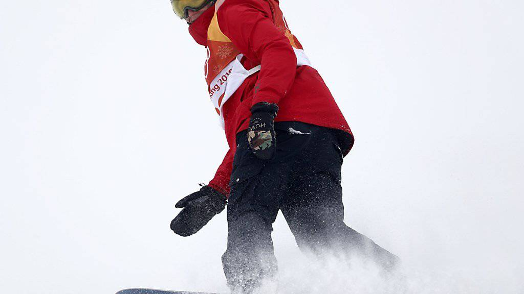 Michael Schärer verpasste den Einzug in den Slopestyle-Final klar.