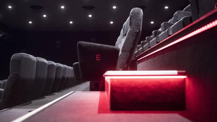 Die Kinos bleiben noch bis am 6. Juni leer.