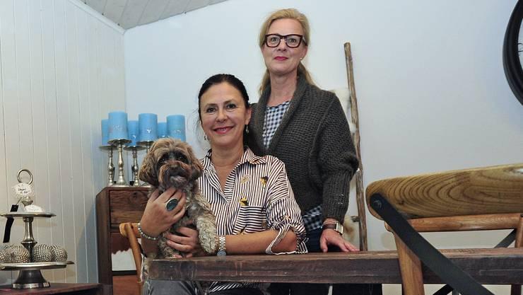 Anette Wolffram (sitzend) und Anke Rüegg im «Nettie's» an der Kirchgasse 3