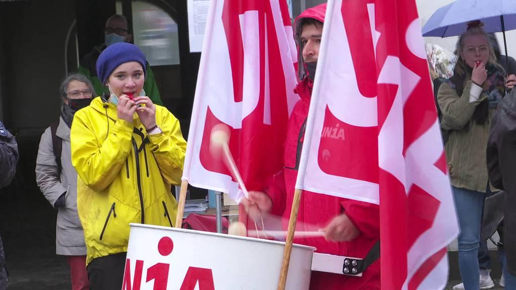 Sitzstreik: Auch in St.Gallen kämpfen Junge fürs Klima