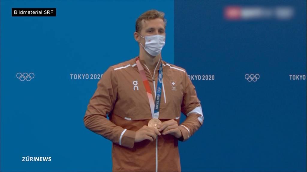 Erneute Olympia-Sensation: Jérémy Desplanches holte Bronze