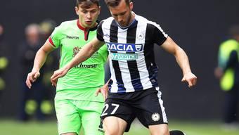 Mehrere Wochen ausser Gefecht: Udinese-Verteidiger Silvan Widmer