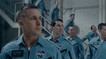 Hoch hinaus: Ryan Gosling als Astronaut Neal Armstrong in «First Man». Universal