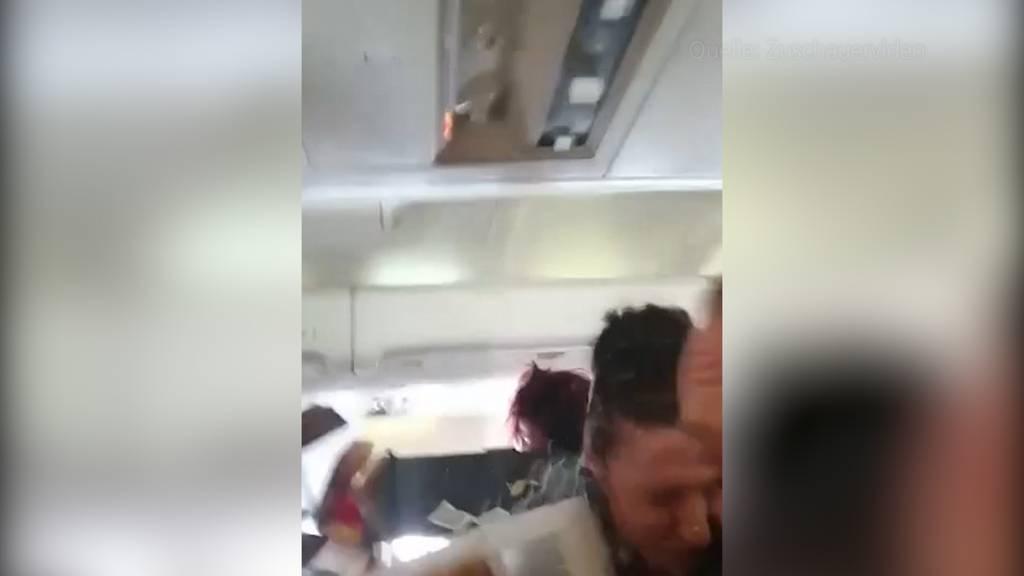Verletzte während Flug nach Basel