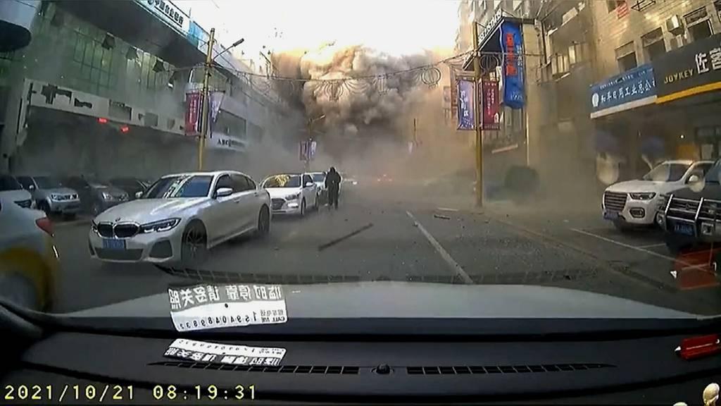 Drei Tote und grosse Zerstörung nach heftiger Gasexplosion in China