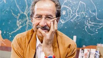 «Verzweiflung ist ein Luxus, den ich mir nicht leisten kann», sagt Rafik Schami.Martin Leissl/laif