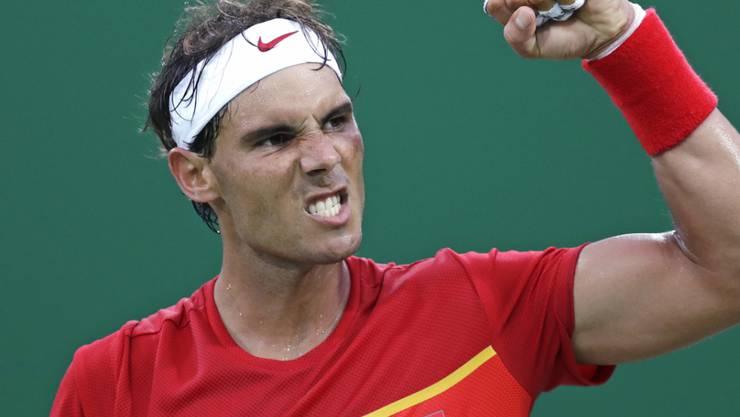 Rafael Nadal gab beim Comeback gegen Federico Delbonis nur drei Games ab