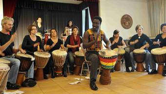 Afro Percussionsgruppe
