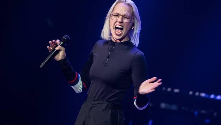 Stefanie Heinzmann trat für die Schweiz in der von Stefan Raab erfundenen Ersatzshow «Free European Song Contest» an. (Archivbild)