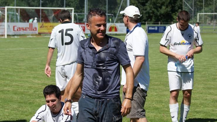 Röbi Rhiner nach dem Spiel gegen Dietikon, als es um den Ligaerhalt ging. (Archiv)