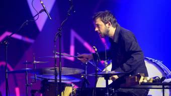 Schlagzeuger Zumthor im Konzert mit Pianistin Vera Kappeler