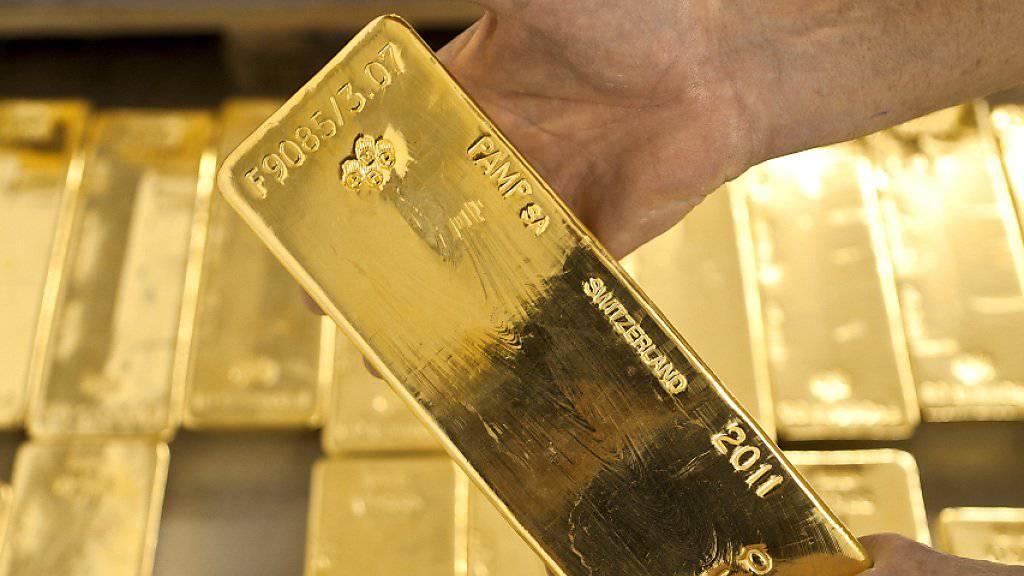 Der Wert des Goldes ist gestiegen: Goldlager der Zürcher Kantonalbank (Archivbild).
