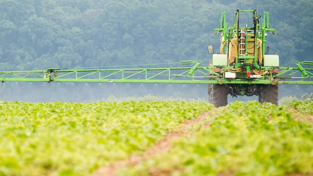 Rückstände von Pestiziden im Urin