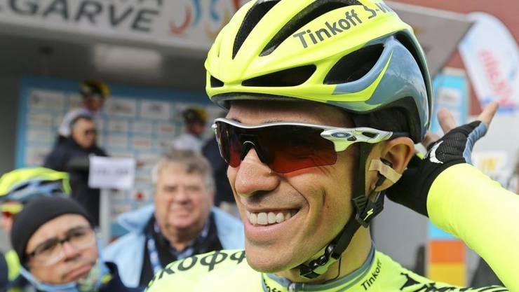 Wie 2008, 2009 und 2014 gewann der Spanier Alberto Contador die Baskenland-Rundfahrt