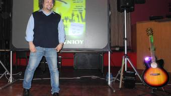 Hat sich seine eigene Bühne geschaffen: Bruno Sonetto auf den Brettern, die seine Welt bedeuten.