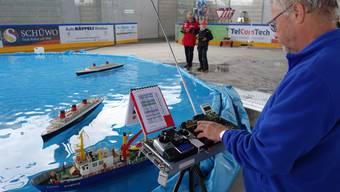 Schiffsmodell-Schaufahren Wohlen