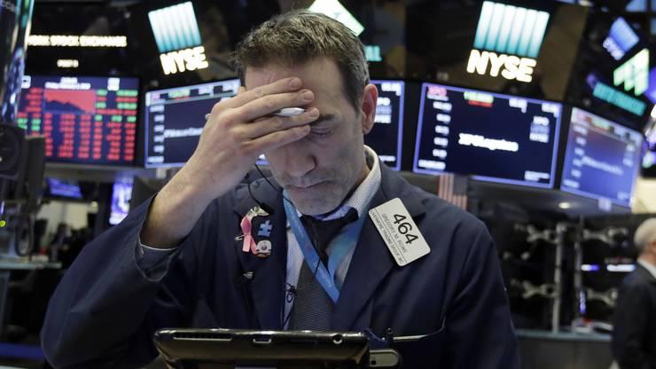 Der Kurseinbruch an der Wall Street löste zum Wochenstart Panik aus.