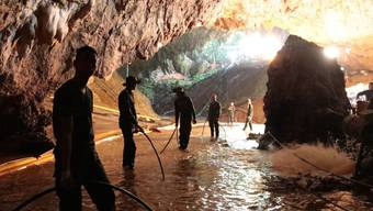 Höhlendrama in Thailand - alle sind gerettet (09.07.2018)