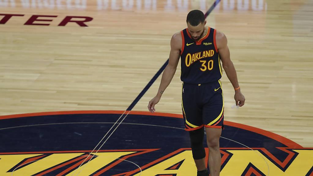 Saison zu Ende: Superstar Stephen Curry von den Golden State Warriors