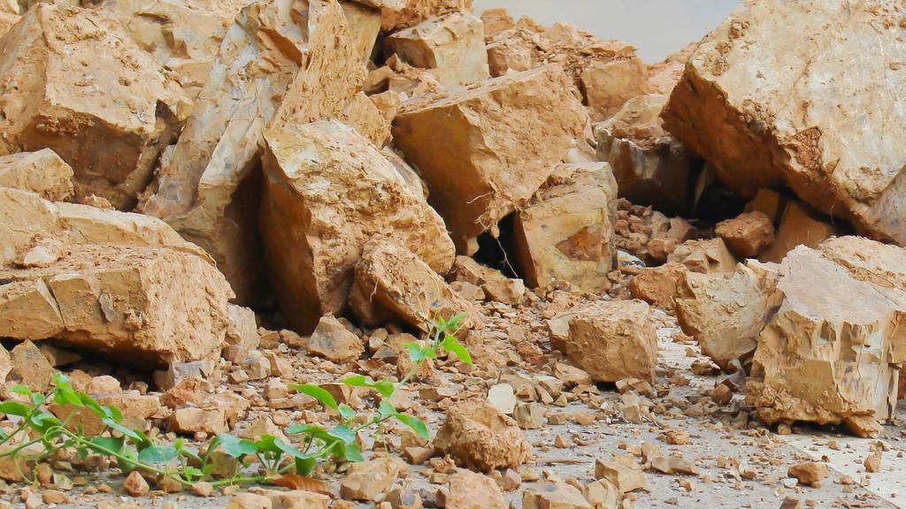 Felssturz oberhalb von Flims geht glimpflich aus