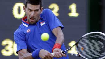 Novak Djokovic deklassierte seinen Gegner Andy Roddick.